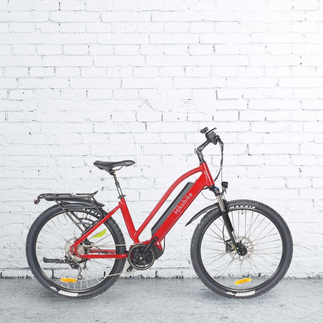 Hikobike electric bikes Rangler - Ebike Red