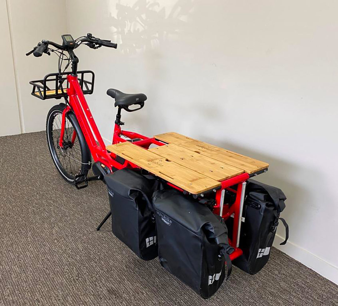 Hikobike UTE electric cargo and family ebike NZ